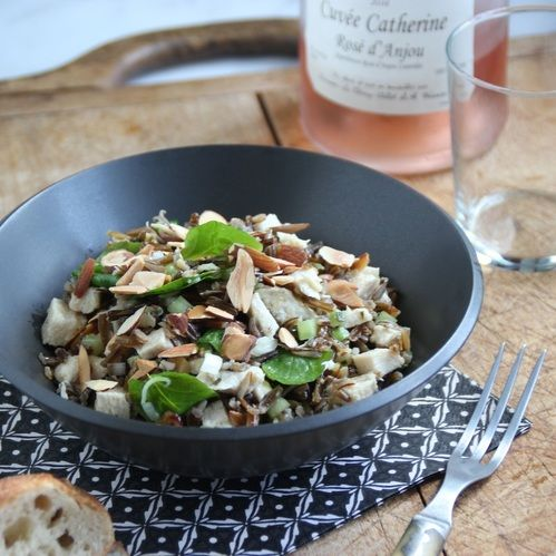Chicken with Wild Rice and Watercress | Pasta + Rice | Pinterest