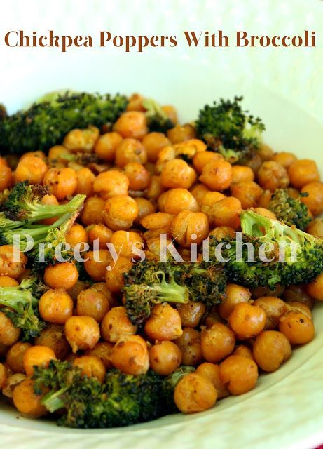 Chickpea Poppers With Broccoli #Healthy #Appetizer ...