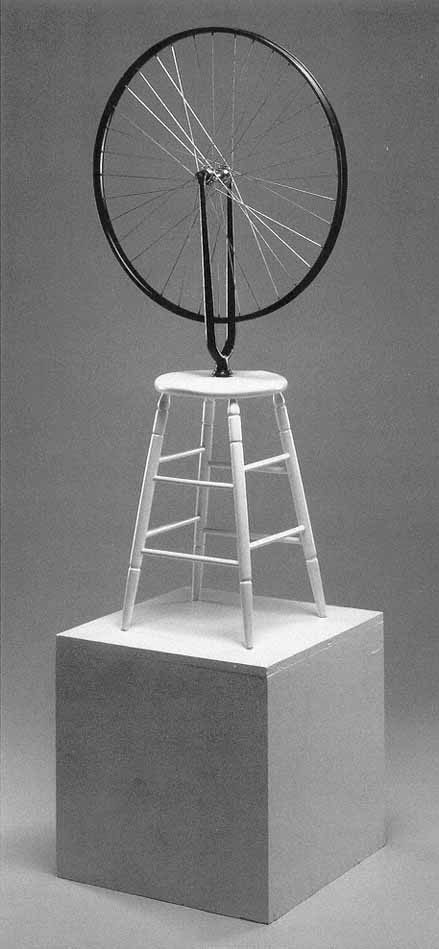 marcek duchamp readymades the bicycle wheel essay · martin gayford tells the fascinating story behind marcel duchamp's fountain, a key exhibit at a new tate modern show.