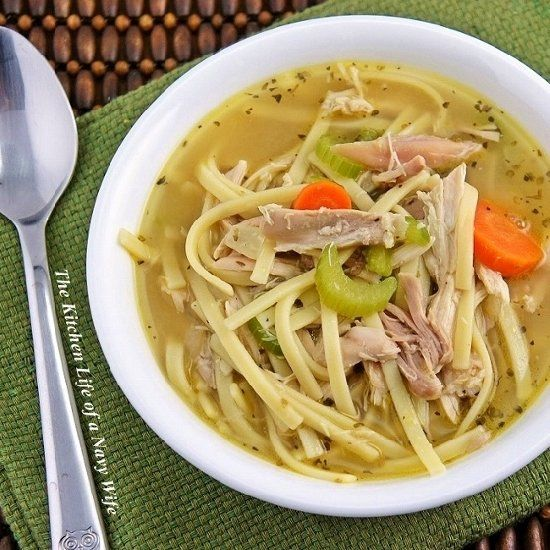 Quick And Easy Chicken Noodle Soup Recipe — Dishmaps