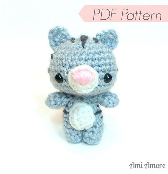 Crochet Patterns Pdf Free Download : PDF Crochet Pattern, Amigurumi Pattern - Cutie Bear - Instant Download