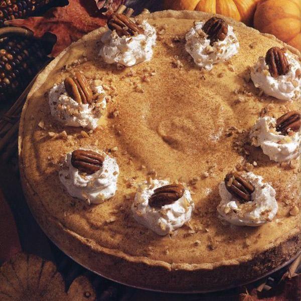 Chiffon Pumpkin Pie Recipe — Dishmaps