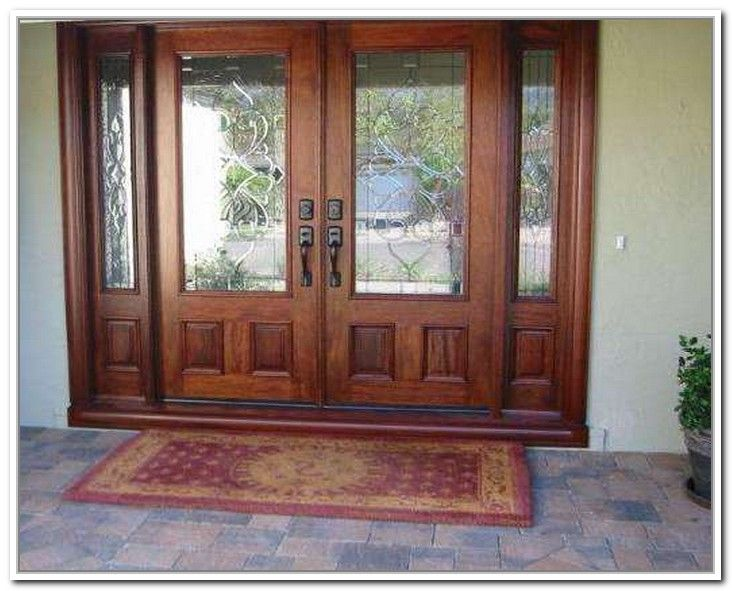 Exterior french door with sidelights for French doors for front door