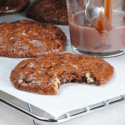 FRANCOIS PAYARD'S FLOURLESS CHOCOLATE- WALNUT COOKIES