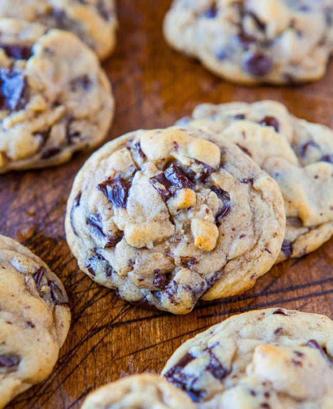 chocolate chip & chunk cookies...always love trying new chocolate chip ...