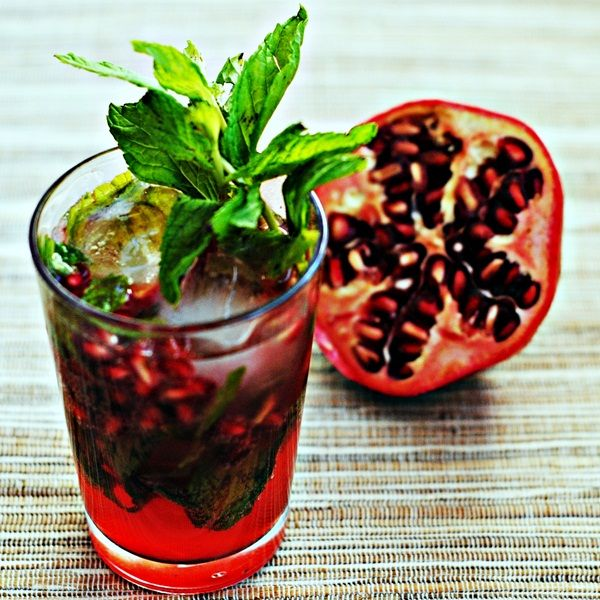 Pomegranate Mojito | Recipe