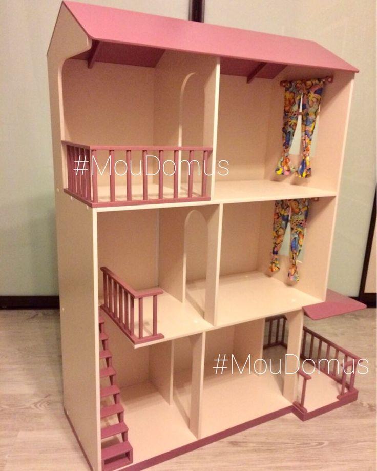 Дом для кукол своими руками обзор