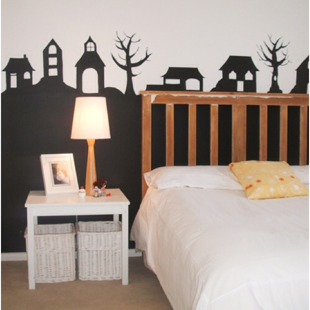Cute feature wall