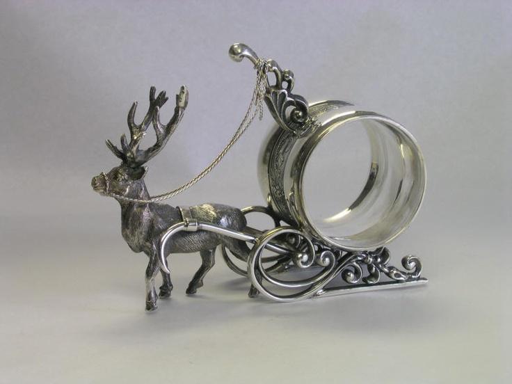 Christmas Napkin Rings Antiques Fun Junk Pinterest