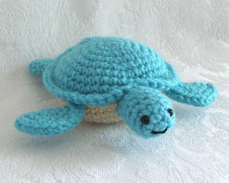 Crochet Sea Turtle Lil Sea Turtle