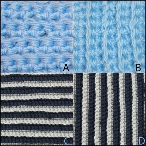 Crocheting In The Back Loop : Back Loop Single Crochet Stitch Crochet! Pinterest