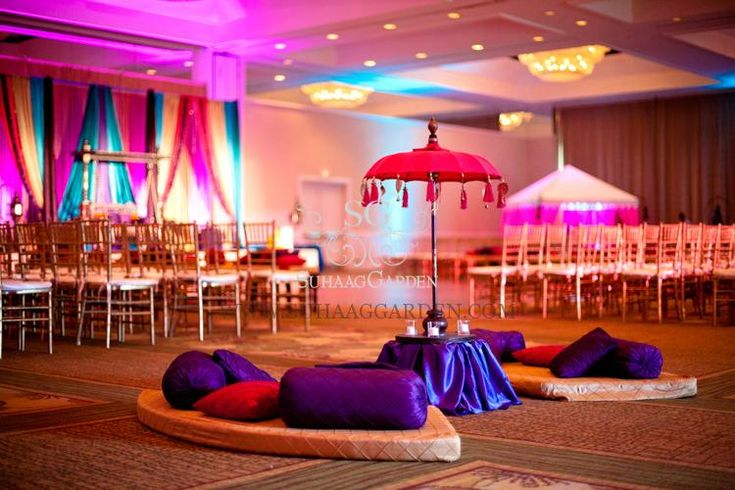 Mehndi seating cushions throw pillows floor seating for Asian wedding bed decoration