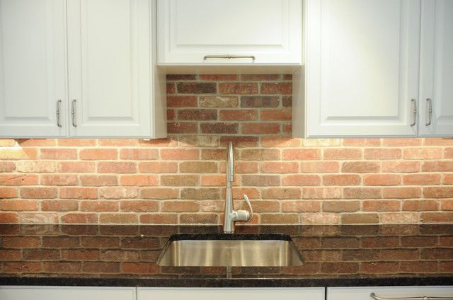 brick backsplash if you give a mouse a cookie pinterest