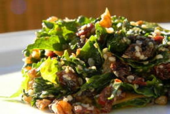 raw kale salad | Paleo Soups & Salads | Pinterest