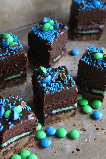 ... Layered Brownies (Superbowl Slutty Brownies) | Best Recipes Ever