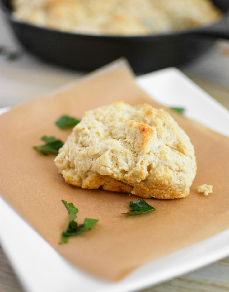 Goat Cheese Beer Biscuits from Cooking and Beer