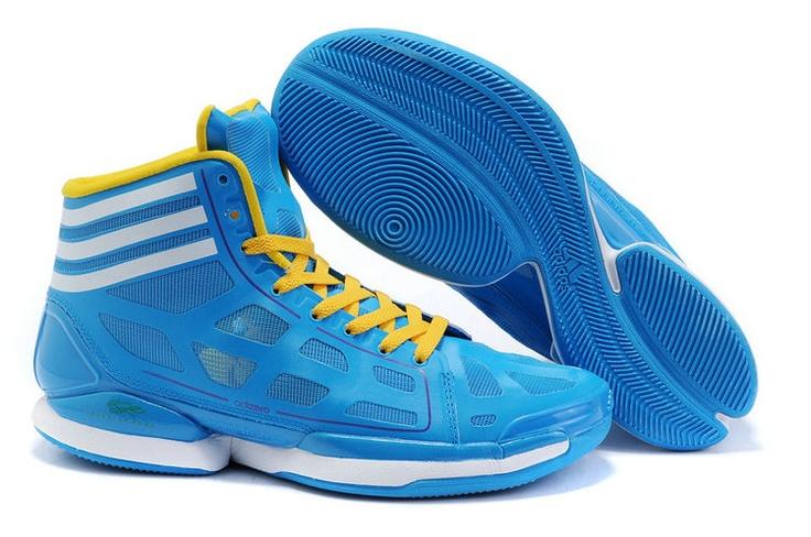 derrick rose shoes light blue - photo #18