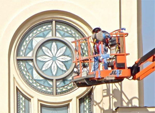 Fort Lauderdale Florida LDS (Mormon) Temple Construction Photographs