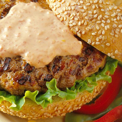 Spicy Buffalo Burgers Recipe | My cookpinterestbook | Pinterest