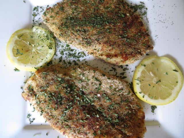 Flounder Piccata -