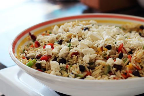 Orzo Salad Yumminess - This Week for Dinner - Weekly Meal Plans ...