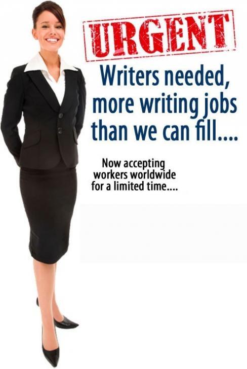 article writing jobs uk