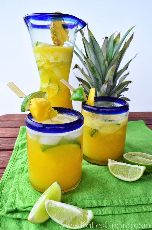 Pineapple-Tequila Cooler | Recipe