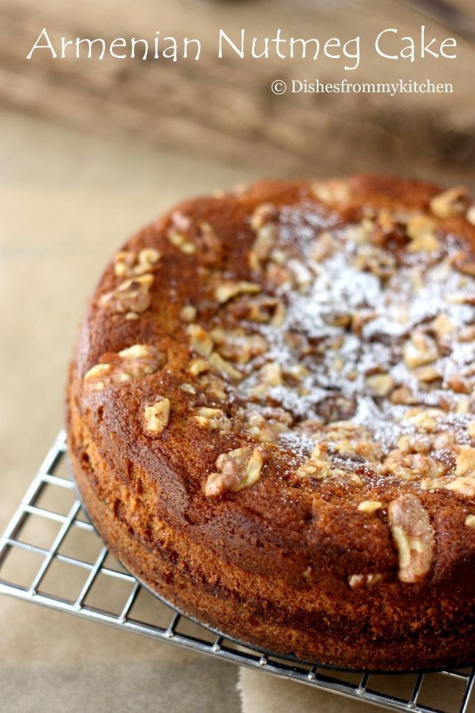 ARMENIAN NUTMEG CAKE | Cakes, cupcakes | Pinterest