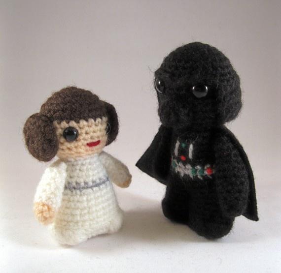 Crochet Pattern Small Amigurumi : PATTERNS for Star Wars Mini Amigurumi Craft Ideas ...