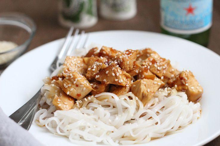 Crock Pot Honey Sesame Chicken | Main Dish-Family Meals | Pinterest