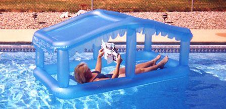 Shaded Pool Floatation