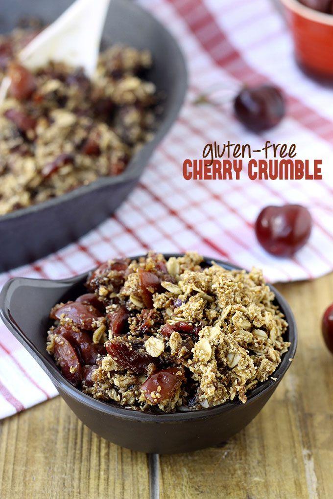 Cherry Breakfast Crumble Recipes — Dishmaps