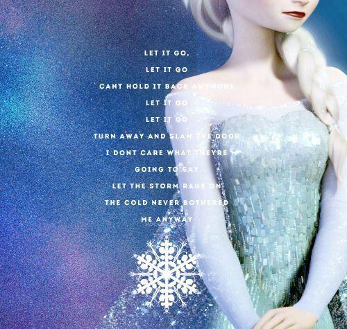 idina menzel frozen let it go lyrics - photo #26