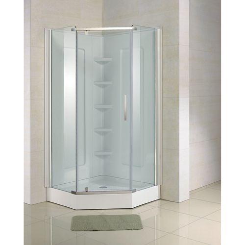 """Neoangle"""" Shower Door $395.00 Rona"""