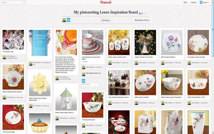 My Pinteresting Lenox Inspiration Board