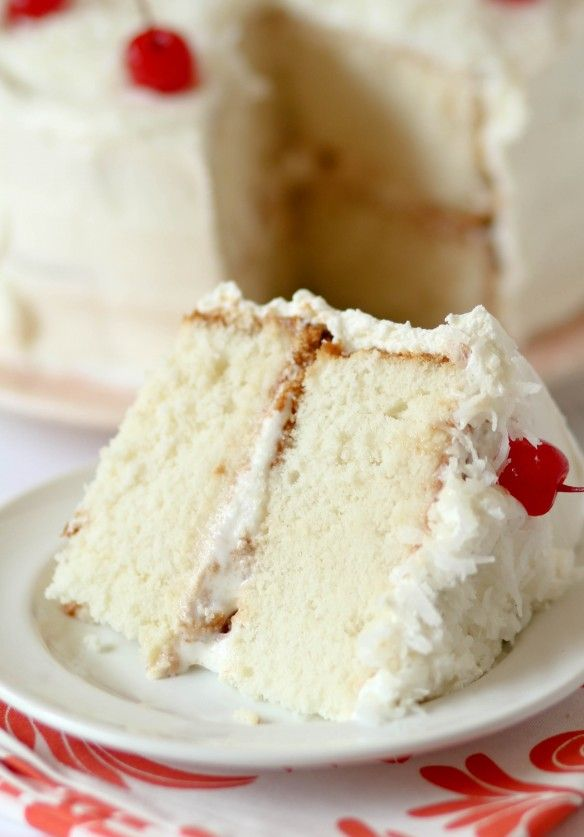 Coconut Tres Leches Layer Cake | Dream Food | Pinterest