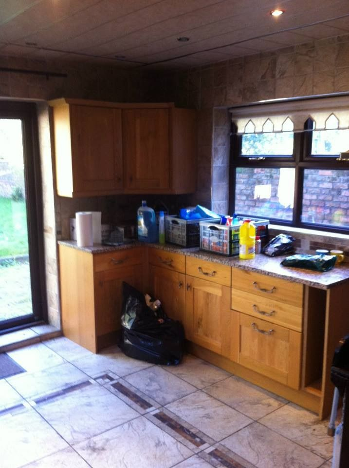 Kitchen number 1 before the make over x