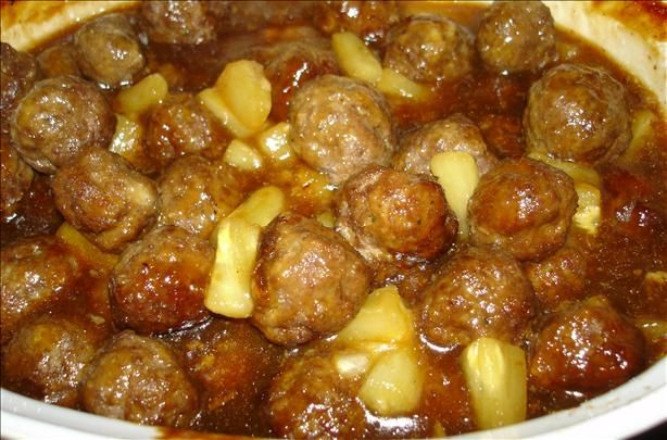 Meatballs With Peppers And Pineapple Recipes — Dishmaps
