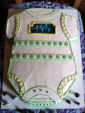 star wars baby shower cake star wars baby shower pinterest