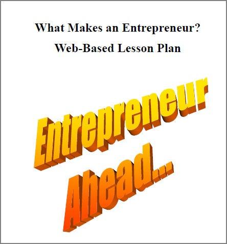 Economic Lesson Plan: What makes an Entrepreneur #homeschool