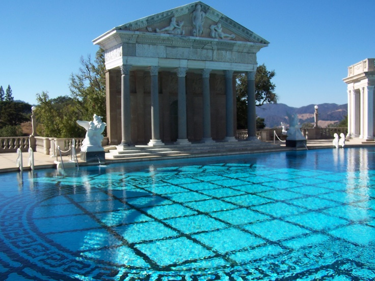Hearst Castle Swimming Pool Food And Drink Pinterest