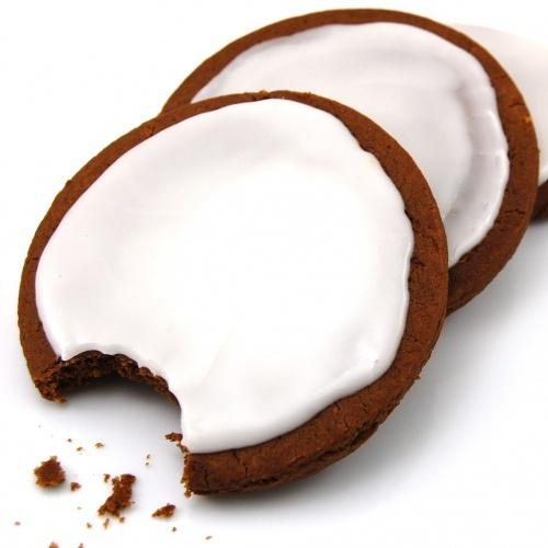Orange Gingerbread Cookies with Rum Glaze   Recipe