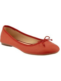 Women's Bow-Tie Ballet Flats | Old Navy | Let's get some shoes