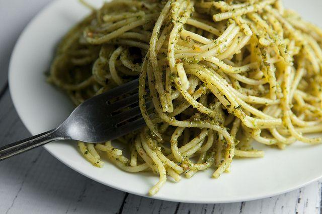 Basil pesto pasta | Oodles of Noodles! Pasta Recipes | Pinterest