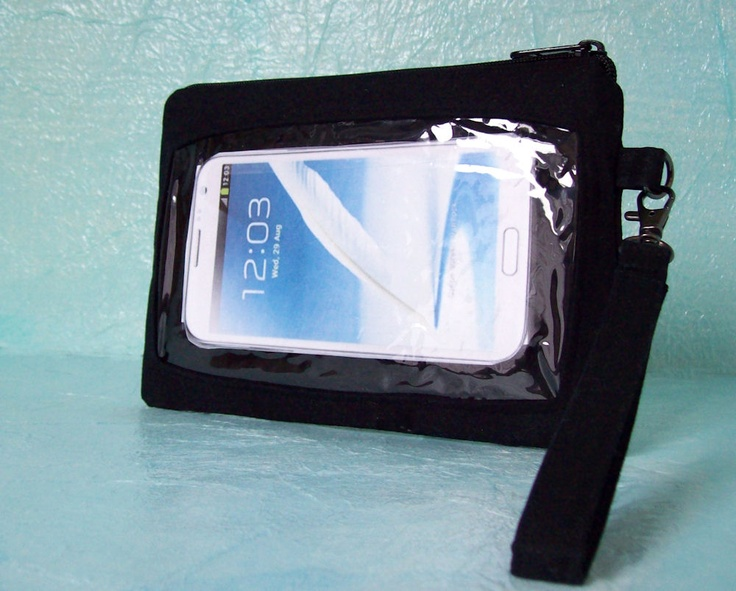 large, wristlet wallet case for Samsung Galaxy Note, HTC Droid DNA ...