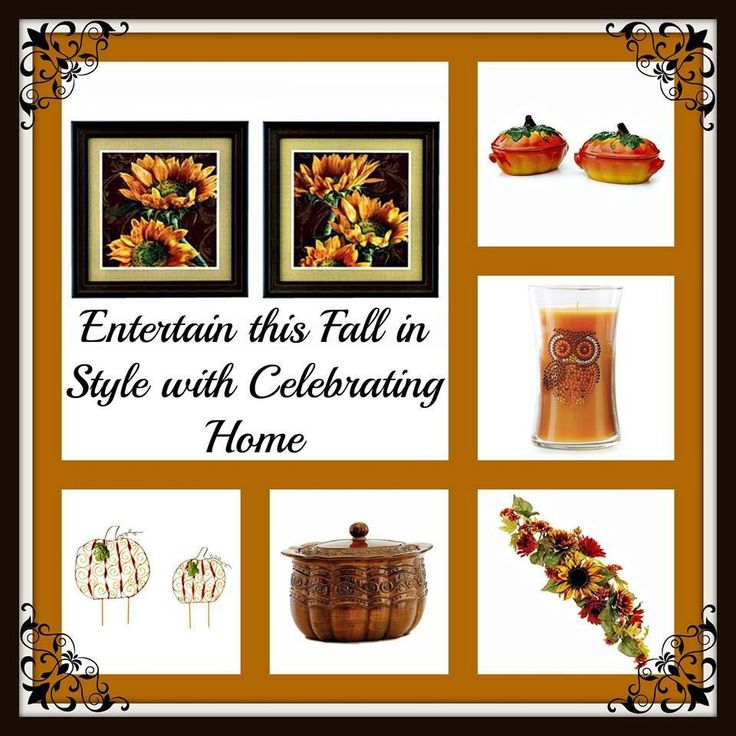 Check Out All Of Celebrating Home 39 S Great Fall 2013 Decor Http Www