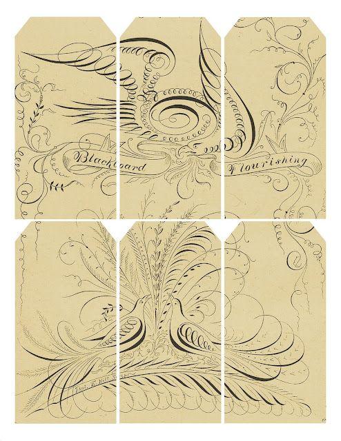 Neutral vintage gift tags - free print