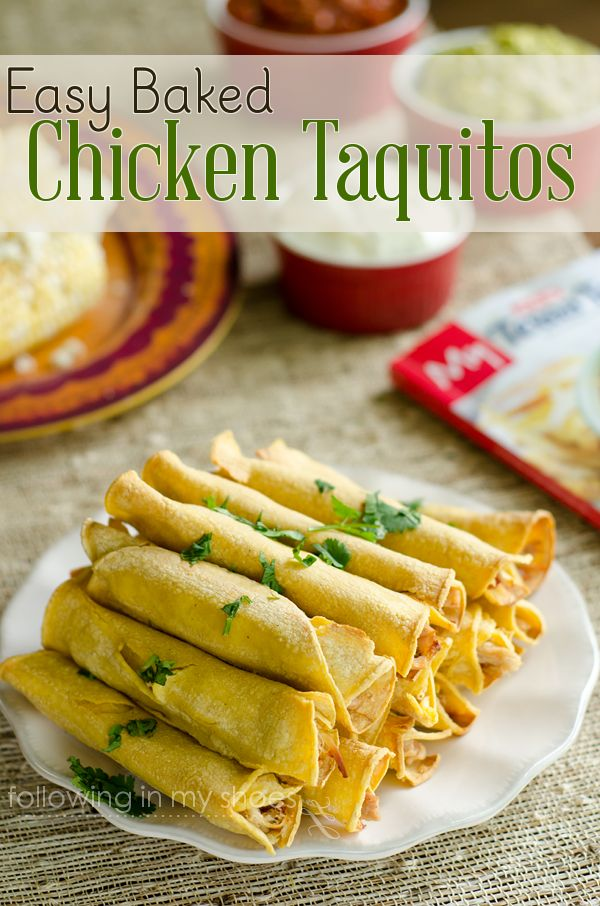 Baked Chicken Taquitos (Weelicious Cookbook) Recipes — Dishmaps