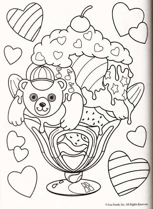 lisa frank coloring pages - photo#16