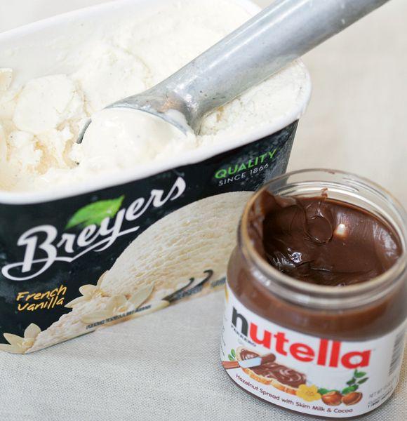 nutella milkshake recipes